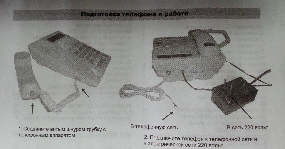 Многофункциональный телефонный Аппарат Русь инструкция